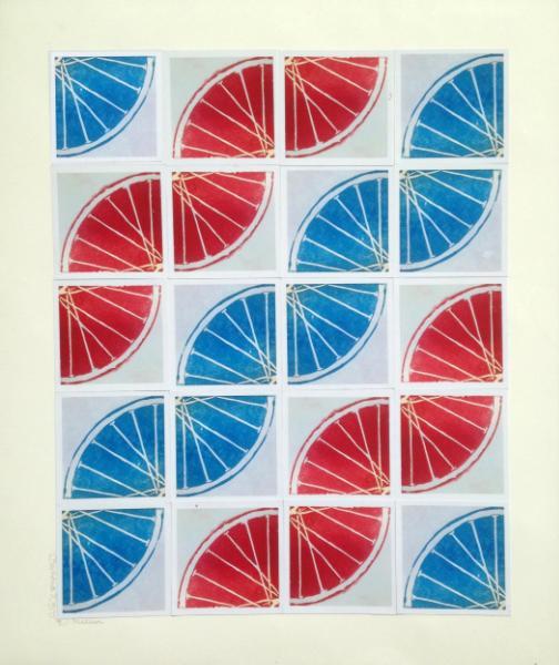 13 Freewheelin' THIRTEEN (Red/blue 4sqx5sq)
