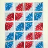 13 Freewheelin' THIRTEEN (Red/blue 4sqx5sq)
