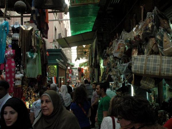 Cairo Bazaar (photos by Bruce A Mellin)
