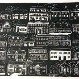 Old Salem linocut (still available)