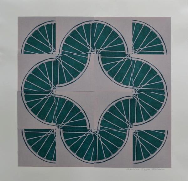 5 Freewheelin' Five (Green 4 sq x4 sqs)