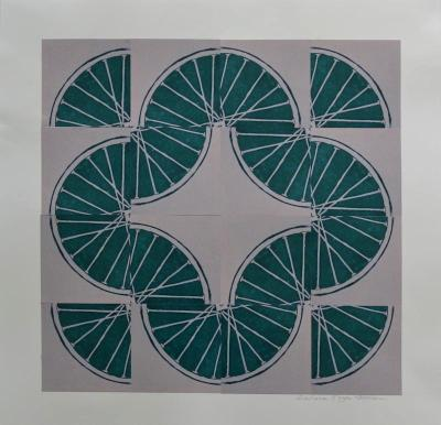 5 Freewheelin' Five (Green 4 sq x4 sqs)