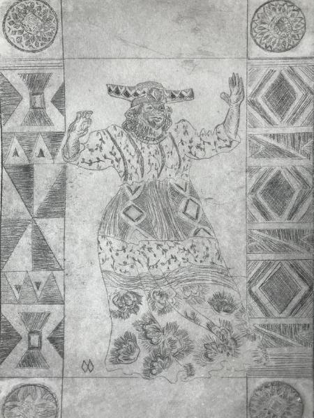 9 Ladies Dancing: Ladies Herero
