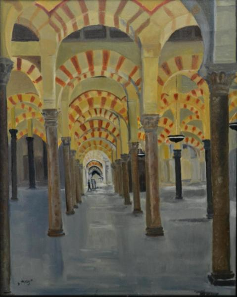 "Mesquita de Cordoba, Spain 30""x24"""