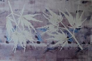Leaf Series/ Purple Rain (sold)