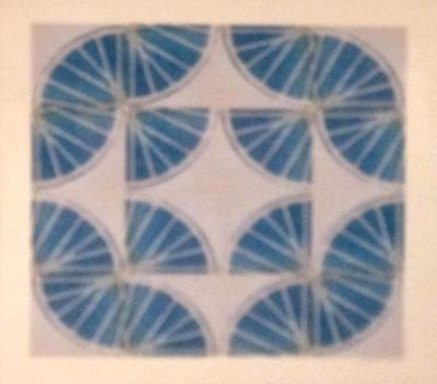 8 Freewheelin' Eight (Blue 4 sq x4 sqs)