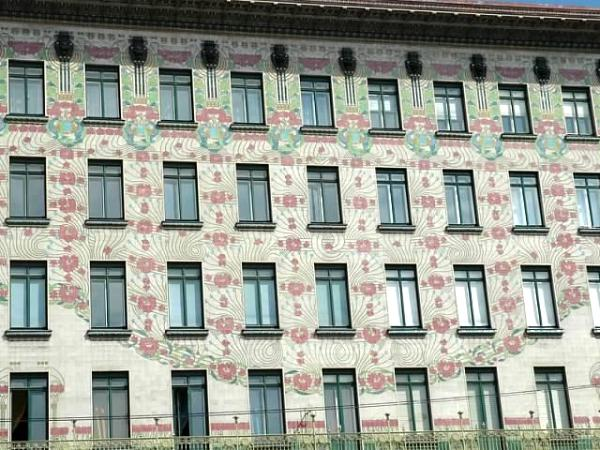 Building by  Otto Wagner (photos by Bruce A Mellin)
