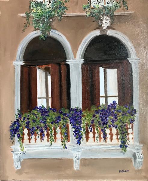 Padua windows (Venetian Balcony)