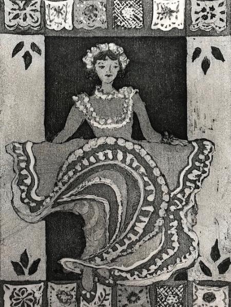 Mexican Folklorica Danceer