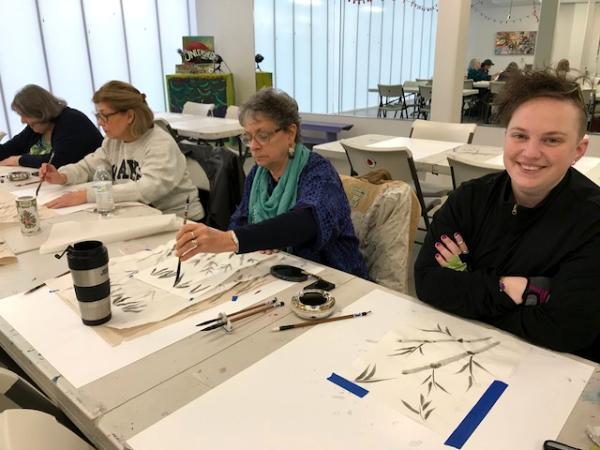 AFAS Brush painting Workshop