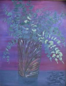 "Eucalyptus 20""x16"""