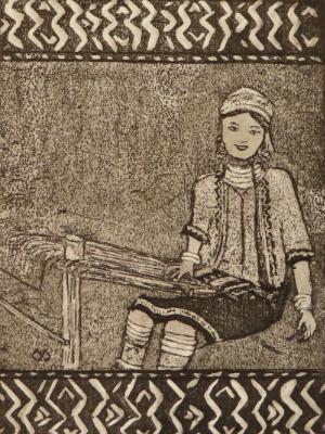 7 Looms a Weaving: Karan culture, Thailand