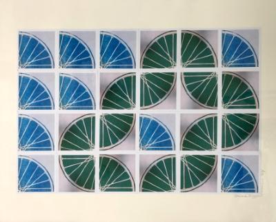 21 Freewheelin' TWENTY ONE (blue-green 4x6 sqs)