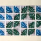 21 Freewheelin' TWENTY ONE (blue-green 4x6 sqs)