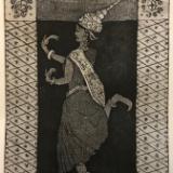 9 Ladies Dancing: Cambodian Apsara Dancer
