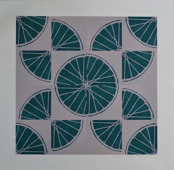 3 Freewheelin' Three (Green 4 sq x4 sqs)