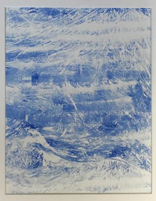 First Frost monotype