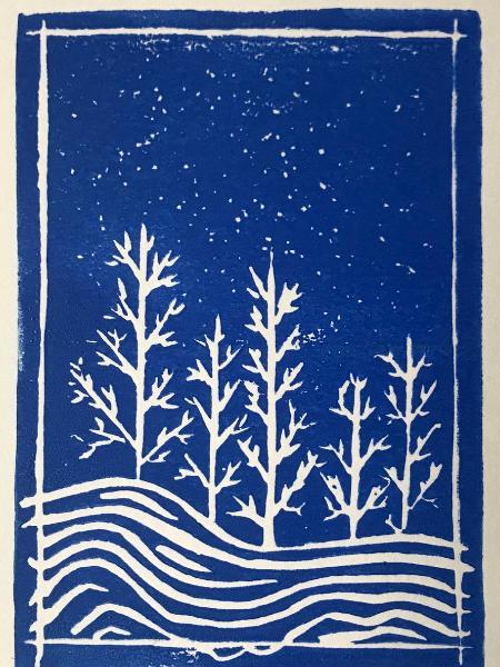 Winter Bare Trees