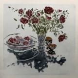 Camellias (Purple)