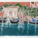 Waiting (gondolas) Venice