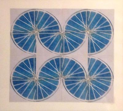 7 Freewheelin' Seven (Blue 4 sq x4 sqs)