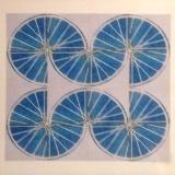 7 Freewheelin' Seven (Blue 4 sq x4 sqs)