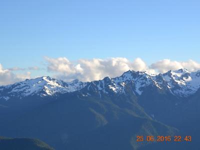 Snow Peaks, Olympic Peninsula