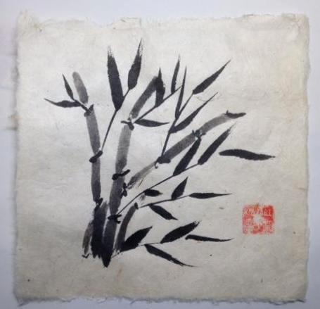 """12x12"""" Bamboo 4"""