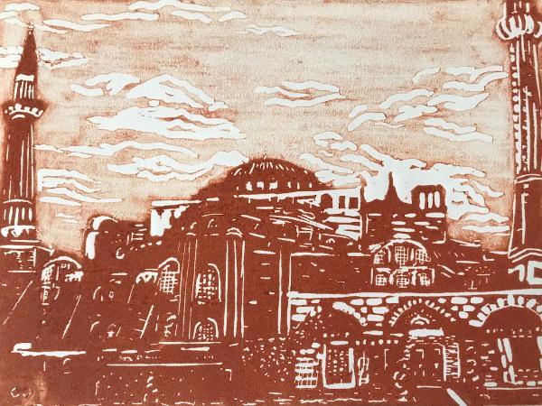 Hagia Sophia (sienna)