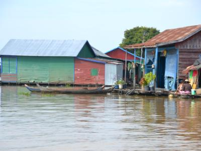 Floating Village Homes, Cambodia