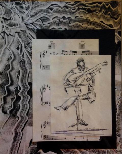 Rhythm monotype (sold)