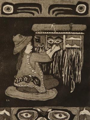 7 Looms a Weaving: Tlingit