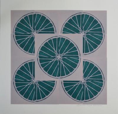 6 Freewheelin'  Six (Green 4 sq x4 sqs)