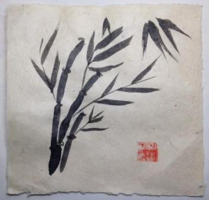"""12x12"""" Bamboo 5"""