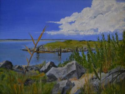 """*OBX (Outer Banks, NC) 12""""x16"""""""