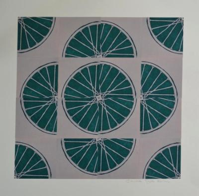 4 Freewheelin'  Four (Green 4 sq x4 sqs)