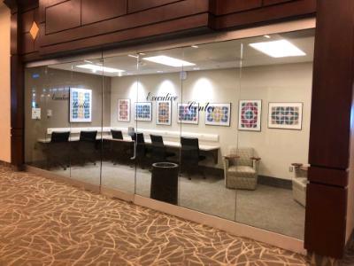Artwork on Display (2018-2019) at PTI airport, Greensboro, NC