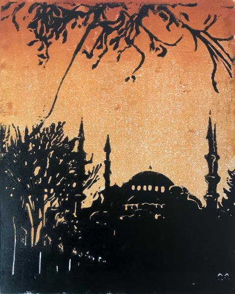 Hagia Sophia Sunset
