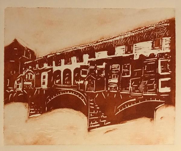 Ponte Vecchio lino cut