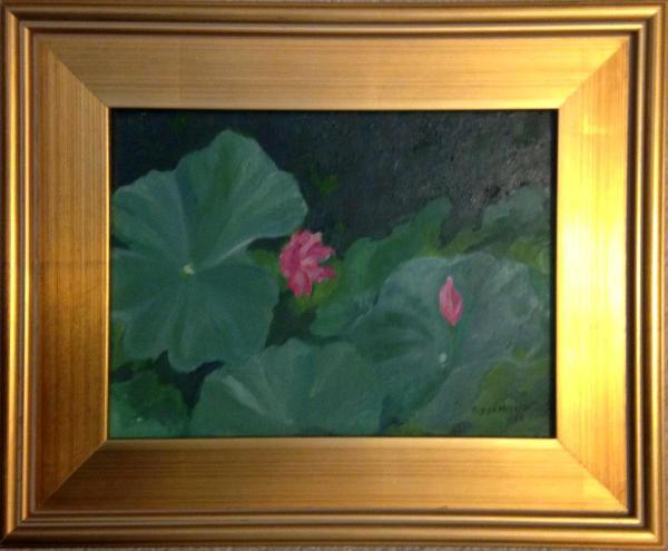 *Lotus Pond, Xian, China (sold)