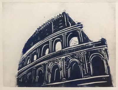 Colosseum blue/black