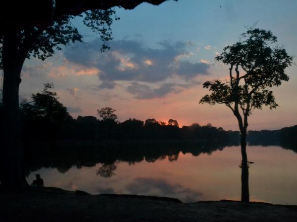 Sunset Silhouette (Cambodia)