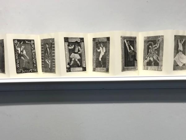 Book on Shelf: Male dancers