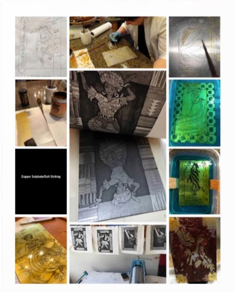 How to Copper/Sulphate/Salt Etching  poster