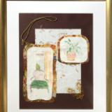 Interior with Gold Cord Collage