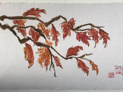 "20x28"" Oak Leaves"