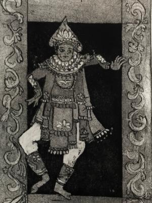 10 Lords a Leaping: Balinese Dancer