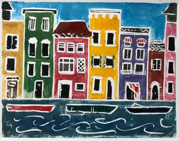 Colorful Houses of Burano (6x9)