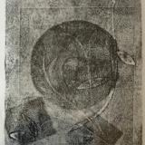 Pressure Shapes 11x14  monotype