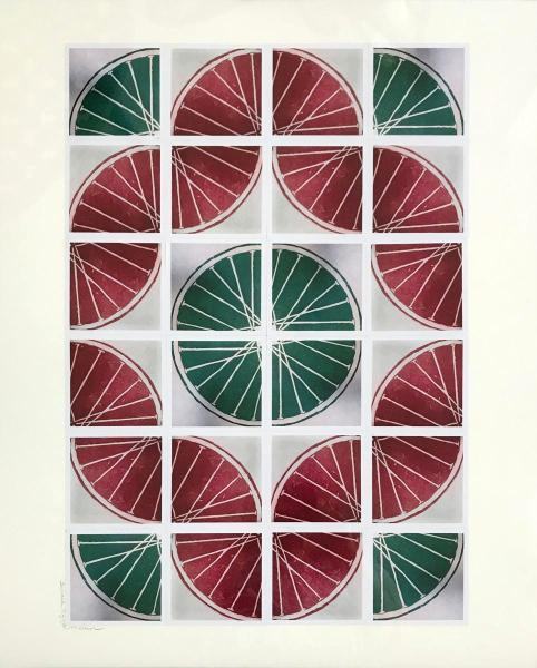 25 Freewheelin' TWENTY FIVE (red/green 4x6 sq)